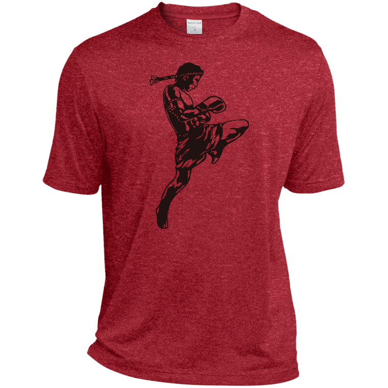 Muay Thai Fighter Moisture Wicking Tee - Martial Arts, Brazilian Jiujitsu, Karate, Muay Thai Shirts