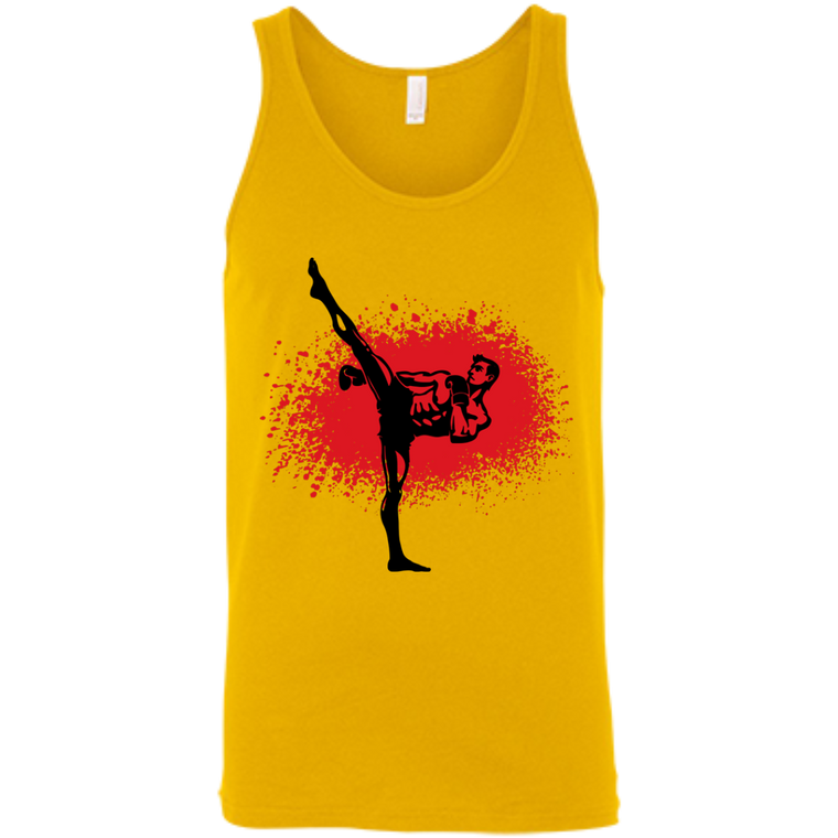 Kickboxer Tank Top - Martial Arts, Brazilian Jiujitsu, Karate, Muay Thai Shirts