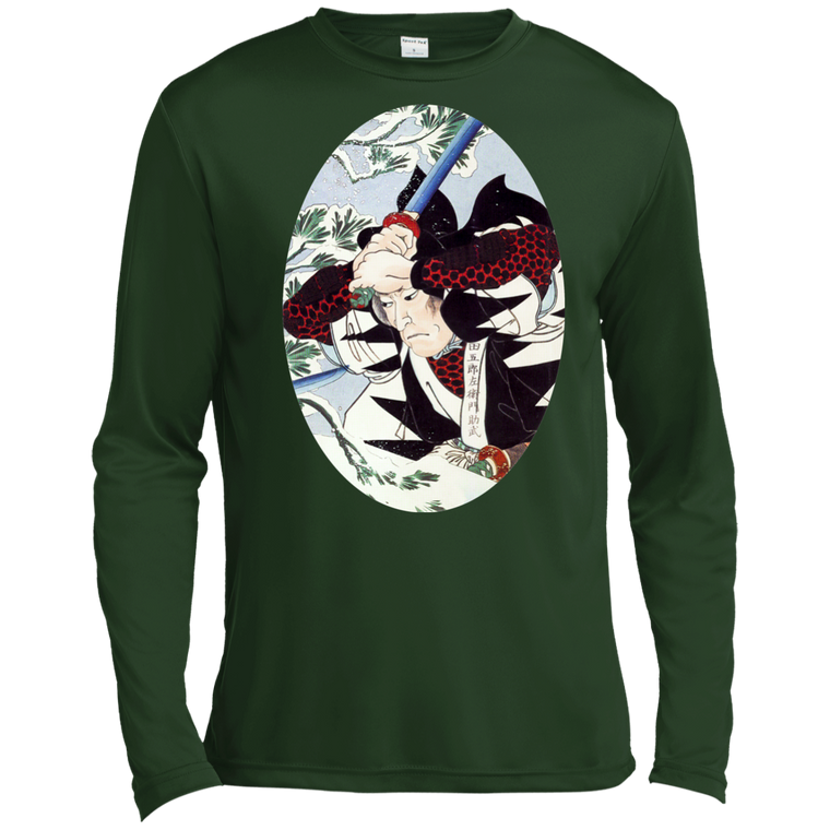 Winter Samurai Battle Long Sleeve Moisture Wicking