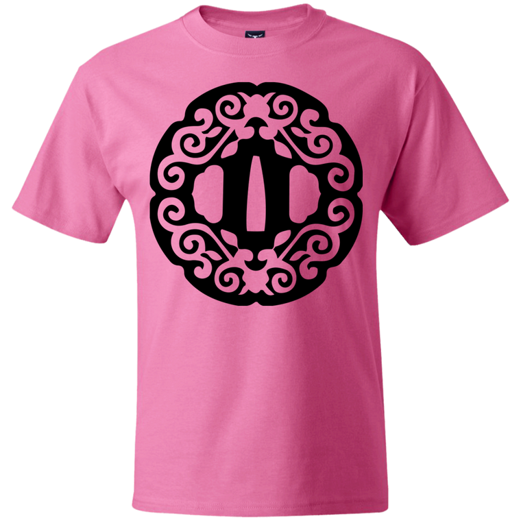 Intricate Tsuba T-Shirt - Martial Arts, Brazilian Jiujitsu, Karate, Muay Thai Shirts