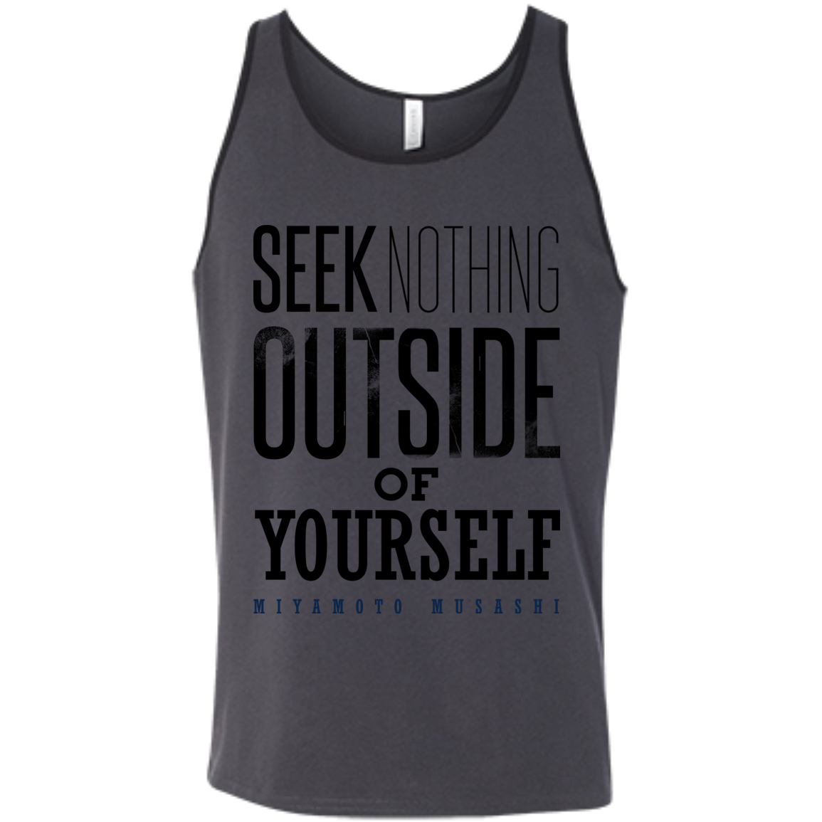 """Seek Nothing"" Tank Top - Martial Arts, Brazilian Jiujitsu, Karate, Muay Thai Shirts"