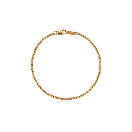 Rounded Box Chain Bracelet