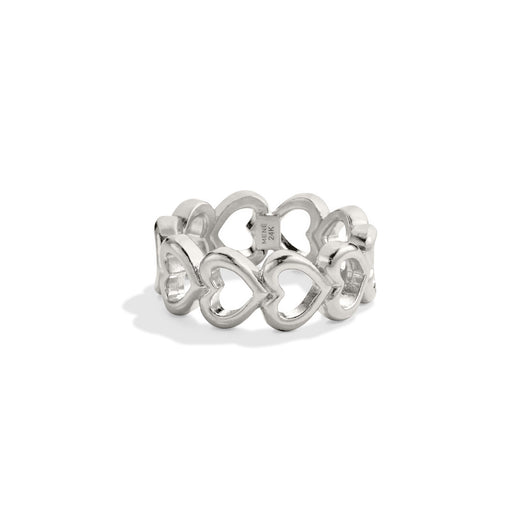 Heart Link Ring
