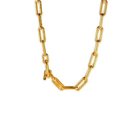 Linear Link Necklace