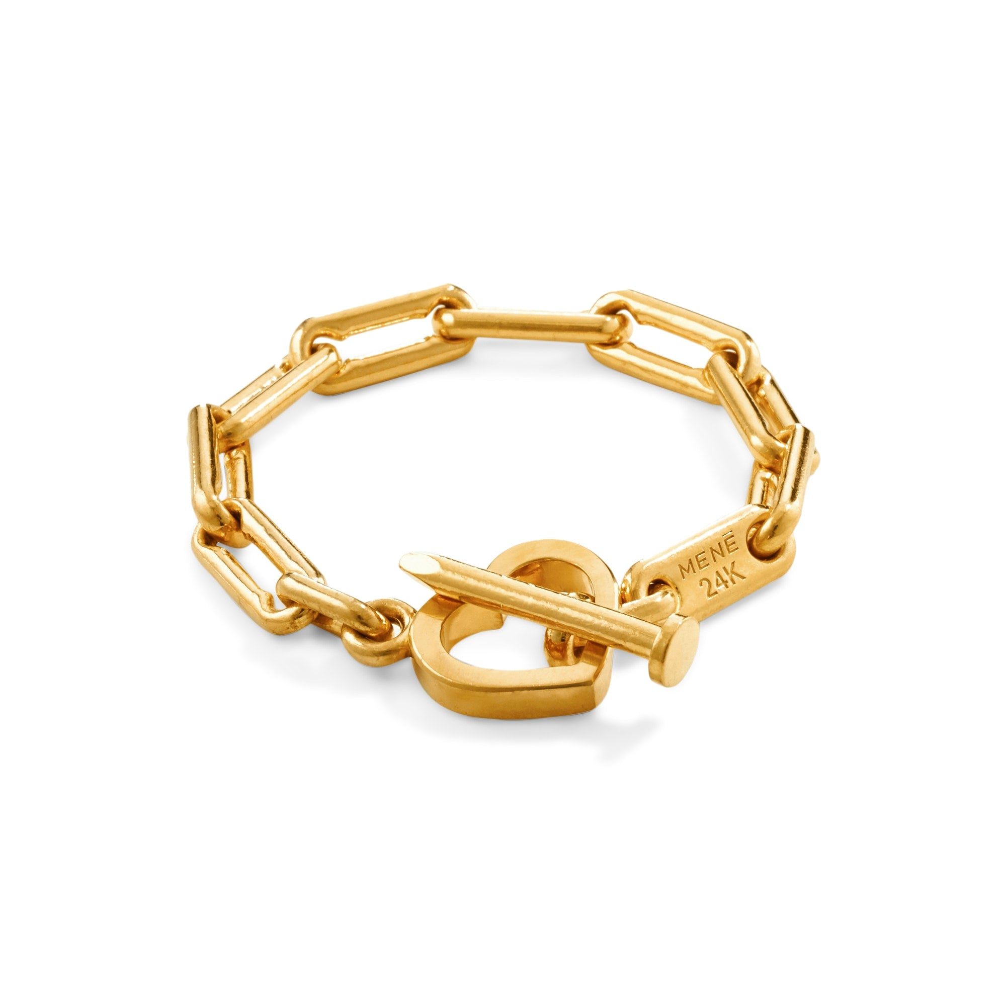 mini product gold heart isabel bracelet lennse