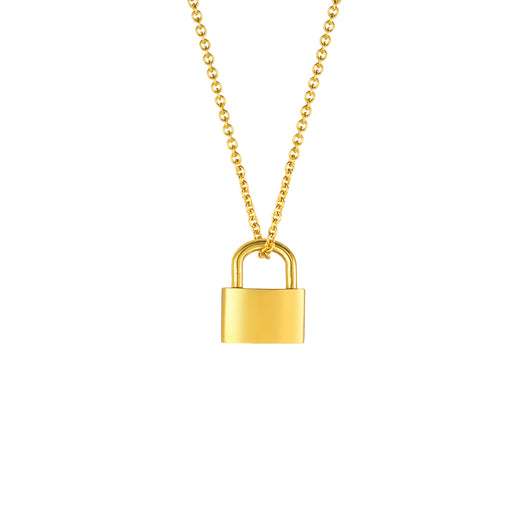 Lock Pendant - Polished