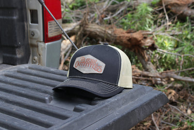 Black Gold Patch Hat