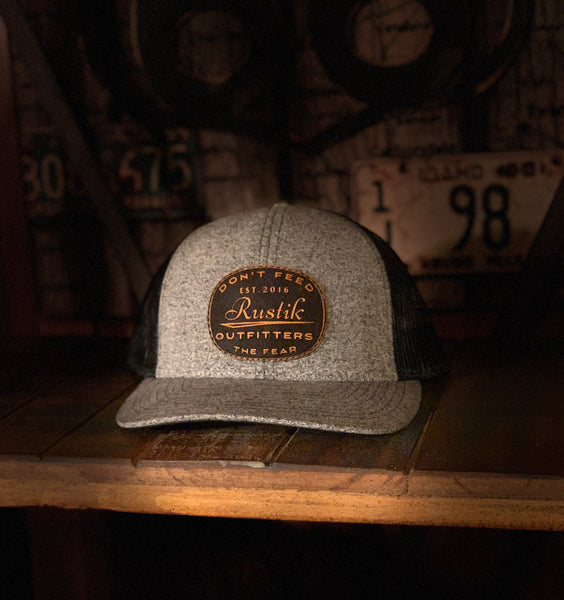 Heather Grey Mechanic Hat