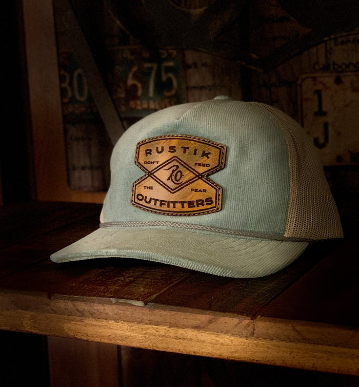 Corduroy Scouts Hat Baby Blue
