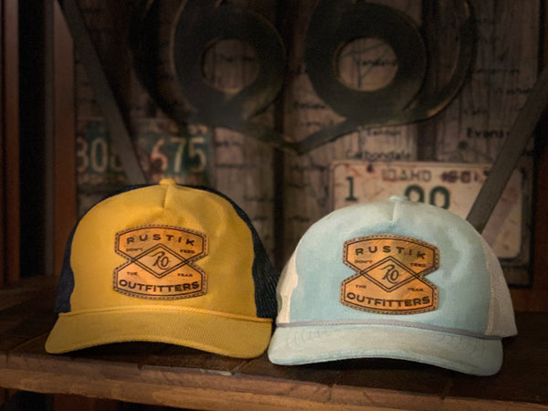 Corduroy Scouts Hat Yellow & Navy