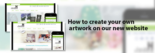 How to create your own artwork on our new website!