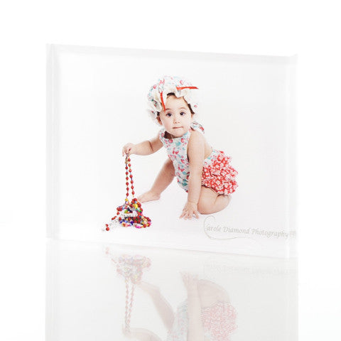 Personalised 75 x 100mm Acrylic Photo Block