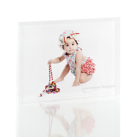 Personalised Acrylic Photo Block