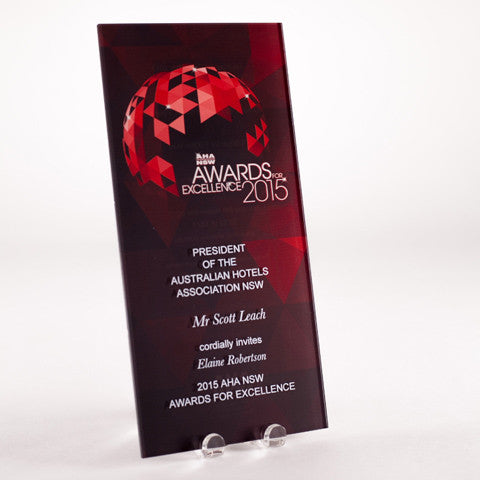 Personalised Event DL Acrylic Invitation