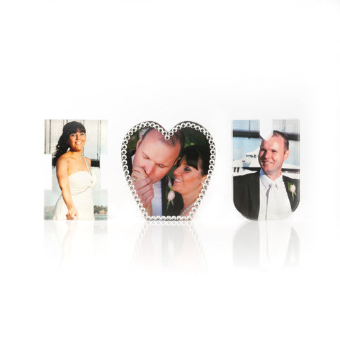 Personalised I LOVE YOU block letters
