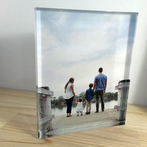 Personalised A4 Acrylic Photo Block