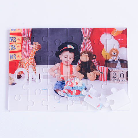Personalised Acrylic Large Puzzle