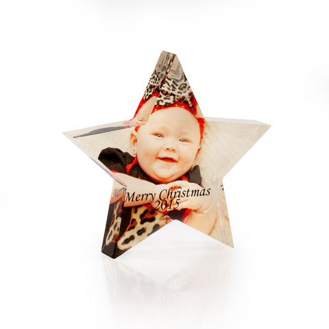 Personalised Acrylic Star
