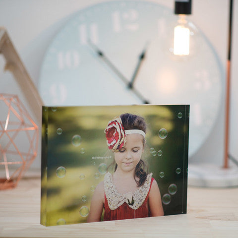 Personalised Photo Blocks