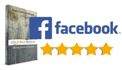 5 Stars Reviews on Facebook for the Cold Wax Book
