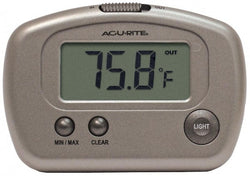 Digital Thermometer with 10-foot Temperature Sensor Probe