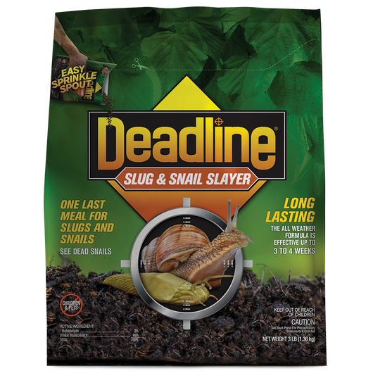 Deadline Slug & Snail Slayer Pellets - 3 pound