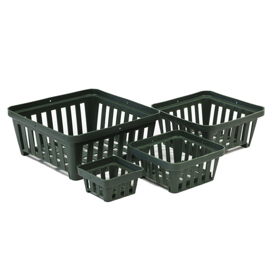 Square Plastic Vanda Baskets