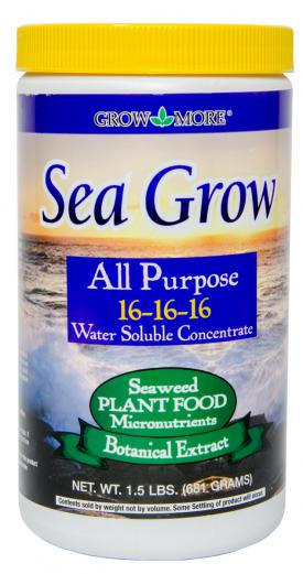 Grow More - Sea Grow Plant Food