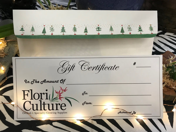 Gift Certificate - Digital or Analog
