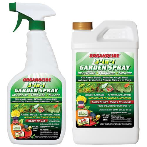 Organocide 3-in-1 Garden Spray