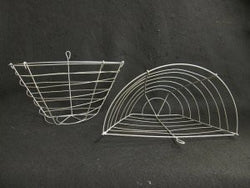 Wire Baskets - Wall/Half Style