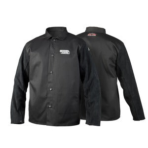 Lincoln Traditional Split Leather-Sleeved Jacket  K3106 XL