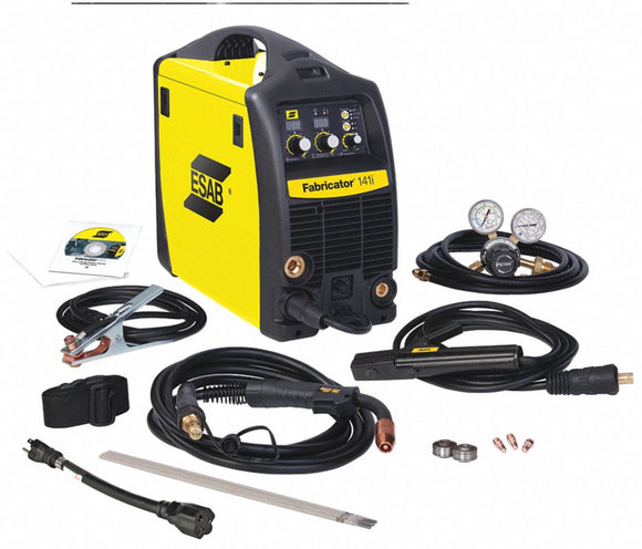 Multiprocess Welder, Fabricator 3-in-1 141i Series, Input Voltage: 115, MIG, DC TIG, Stick Welding