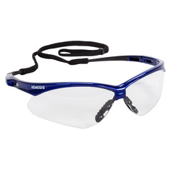JACKSON SAFETY V30 Nemesis Safety Glasses Blue Frame