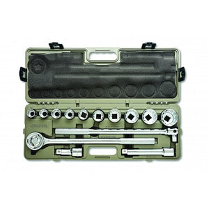 "Crescent 14 Piece 3/4"" Drive Mechanics Tool Set, SAE"