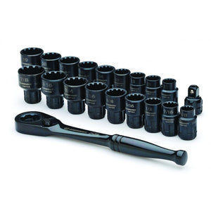 Crescent 20 Pc. X6™ Pass-Thru® Ratchet & Socket Set
