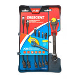 Crescent 7 Pc. X6™ SAE Open End Ratcheting Wrench Set