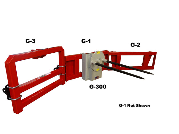 Bolt On Hydraulic Bale Mover and Unroller