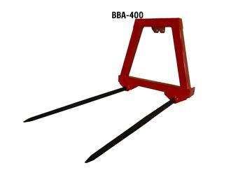 3 Point Bale Fork Attachment 3000 lb Capacity