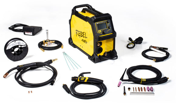 ESAB Rebel 205ic AC/DC Multiprocess Welder