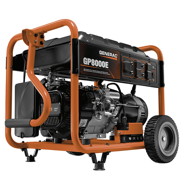 GENERAC GP SERIES 8000E PORTABLE GENERATOR