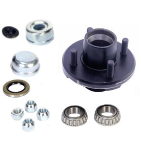 Redline 4 on 4in Hub Kit 1in Spindle For 2K Axles H34822BX