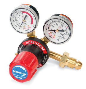 MATHESON Select Acetylene Regulator, Medium Duty, CGA 510