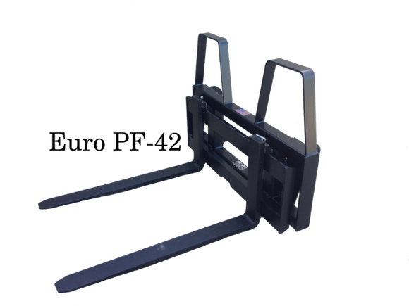 Euro Global Pallet Fork Attachment 4000 lb Capacity