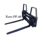 Euro/Globe Bale Handling Pallet Forks Attachment