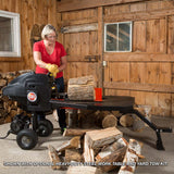 DR RapidFire Flywheel Log Splitter K22 Premier Model, Electric Powered