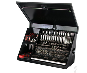 "Montezuma 36"" Portable Steel Tool Box"