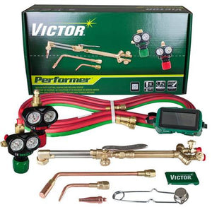 Victor 0384-2045 Performer 540/510 Edge Acetylene Cutting Torch Outfit