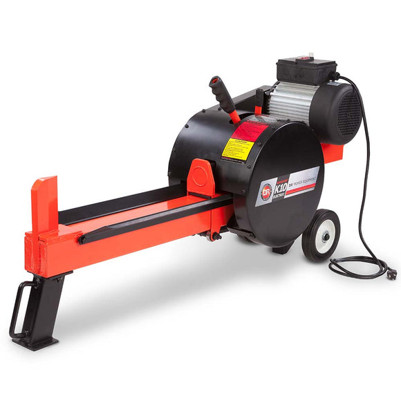 DR RapidFire Flywheel Log Splitter K10 Electric Model