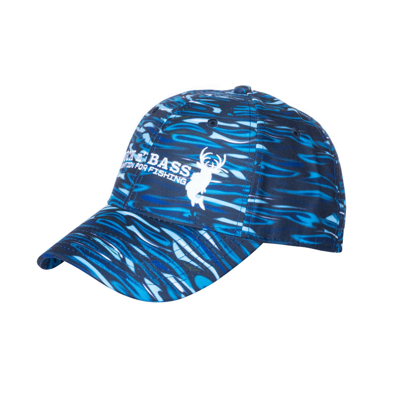 Liquid Fade Water Camo Fishing Hat